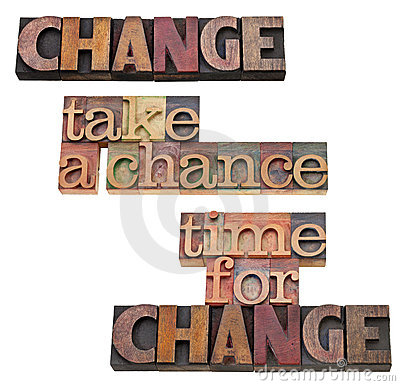 Time for change - take a chance