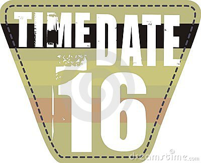 Time date patch