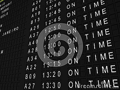 On Time Flights