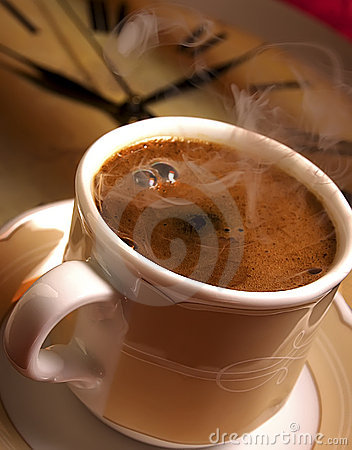 Free Time For Fresh Turkish Coffee. Stock Photos - 9893253