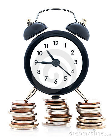 Free Time Is Money Stock Image - 22177701