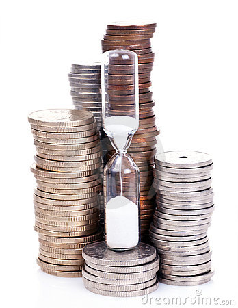 Free Time Is Money Stock Photo - 22711490