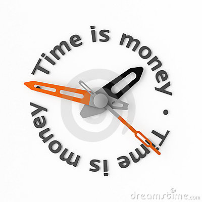 Free Time Is Money Stock Images - 4419104