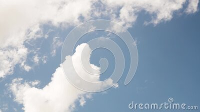 Clouds in the sky - Video background - 4K 30p stock video footage