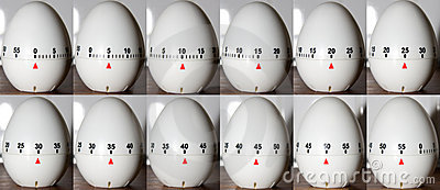 Time Lapse Egg Clock