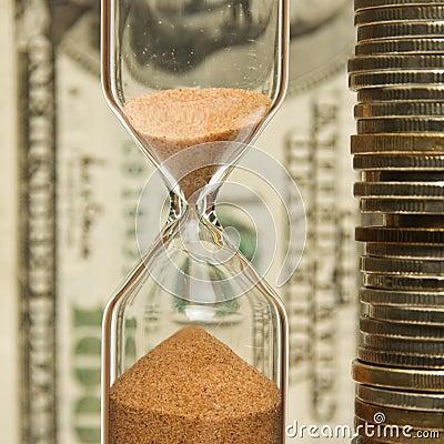 Free Time - Money Royalty Free Stock Photo - 8380635