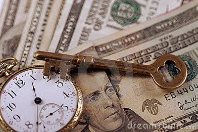 Time And Money Concept