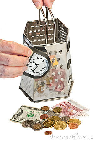 Time is money (concept image)