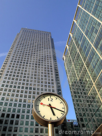 Time Is Money In Londons Docklands