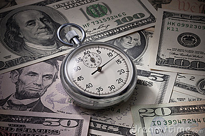 Time Money Business Management Dollars