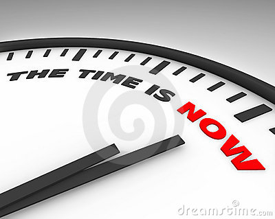 The Time is Now - Clock