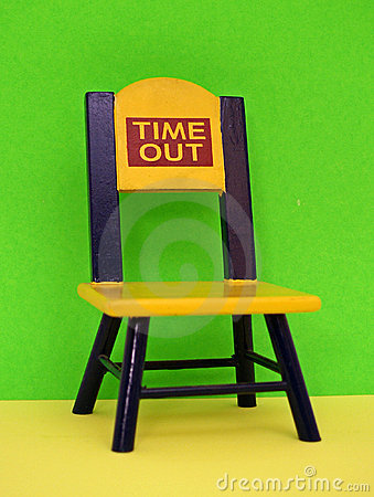 Free Time Out Chair Stock Photo - 12658340
