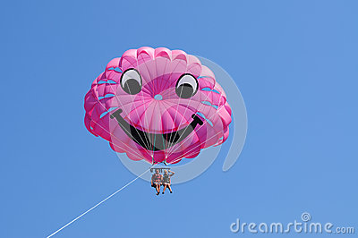 It Is time for parasailing