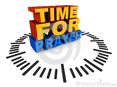 Time for prayer
