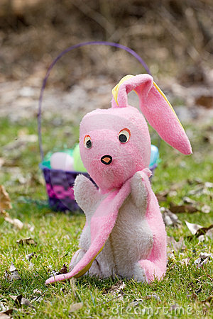Time for Retirement, Easter Bunny Getting Older