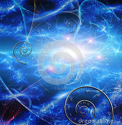 Time space fabric stock illustration image 45800478 for Space and time fabric