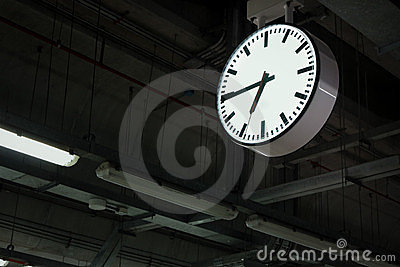 Time in station