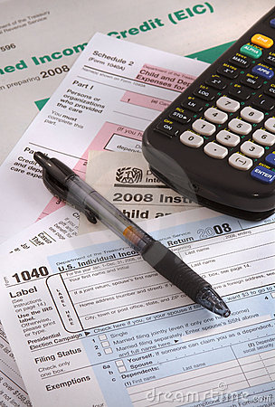 Time to fill out tax forms