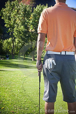 Free Time To Go Golfing Royalty Free Stock Photography - 17920027