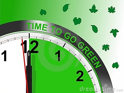 Time to go green - cdr format