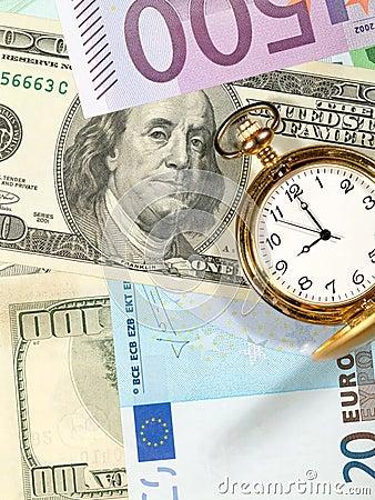 Free Time To Make Money. Royalty Free Stock Photos - 10546148