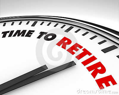 Time to Retire - Clock