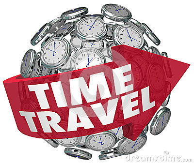 Time Travel Clock Sphere Future Science Fiction Prediction ...