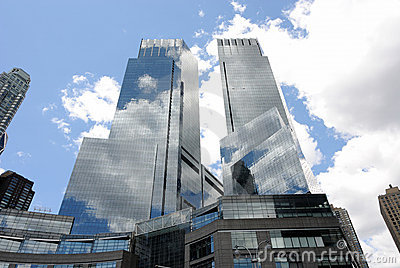 Time Warner Building Editorial Photography