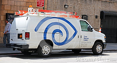 Time Warner Cable Editorial Stock Photo