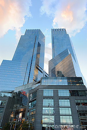 Time Warner Center Editorial Photography