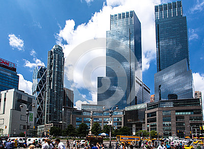 Time Warner Center Editorial Photo
