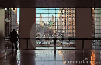 Time Warner Center New York City View USA