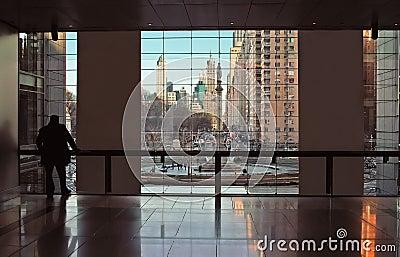 Time Warner Center New York City View USA
