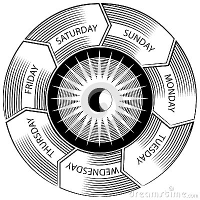 Time Wheel Engraving