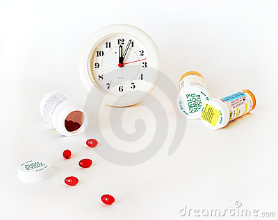 Time For Your Dose Of Medicine Royalty Free Stock Image - Image: 1905836