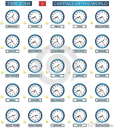 Time Zone - 6 Stock Photos - Image: 13646683