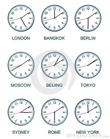 Time zone watch