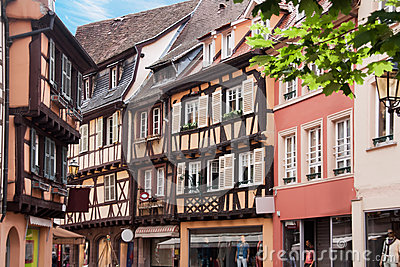 Timebered-houses in Colmar, France