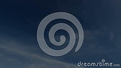 Timelapse da exploração agrícola da nuvem do céu filme