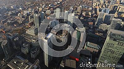 Timelapse of downtown Burlington, Canada 4K. A Timelapse of downtown Burlington, Canada 4K stock video footage
