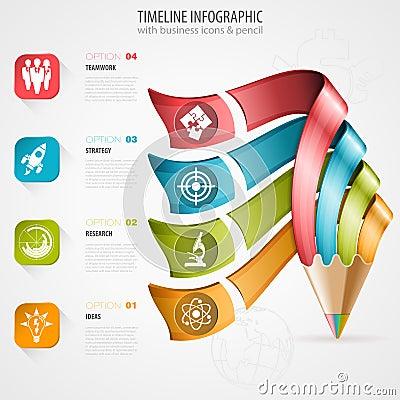 Free Timeline Infographic Stock Photos - 45042633