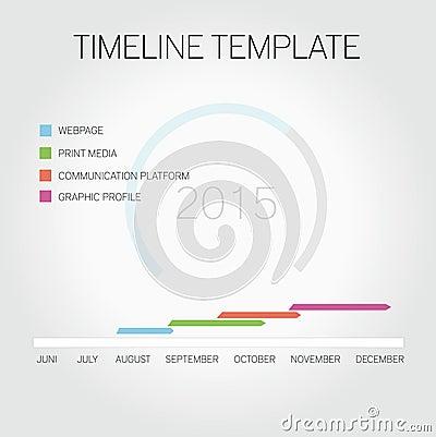 pr timeline template - timeline template royalty free stock image image 34111206