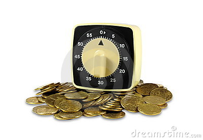 Timer and coins