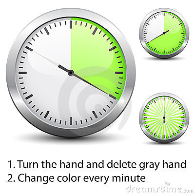 Timer - easy change time every one minute