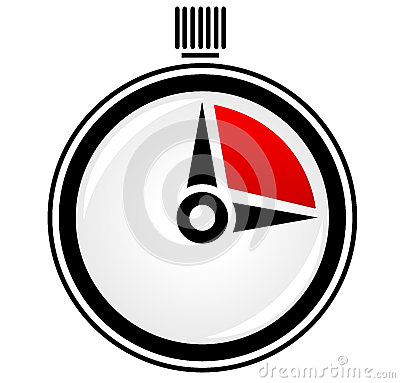 Free Timer, Stopwatch, Time Concept Vector Royalty Free Stock Image - 32339036