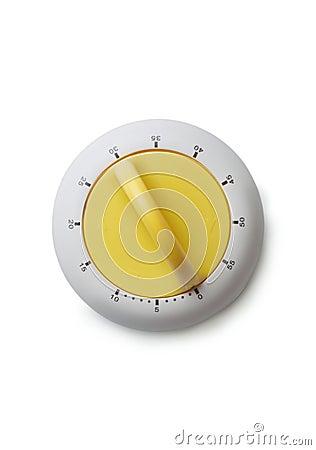 Free Timer With Yellow Knob Stock Photos - 51068603