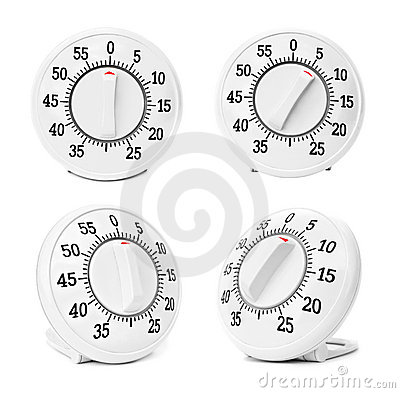 Timers set