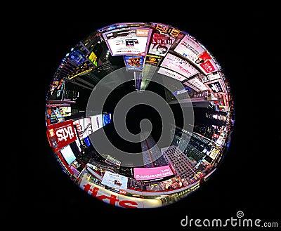 Times Circle Editorial Stock Image