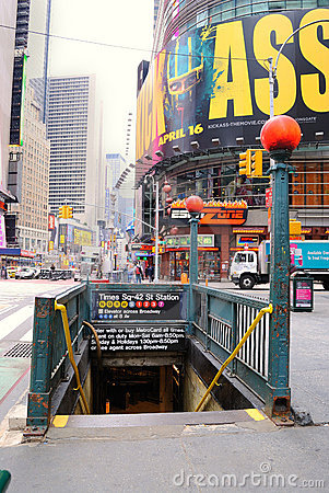 Times Sq-42 St Station Editorial Image
