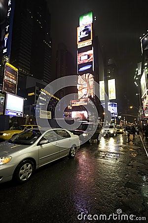 Times Square 2 Editorial Photo